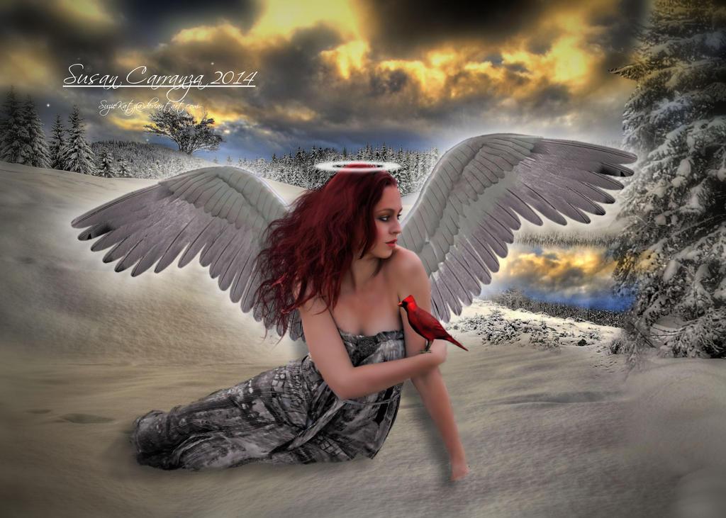Winters Angel by SuzieKatz