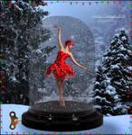 A Little Christmas Ballerina