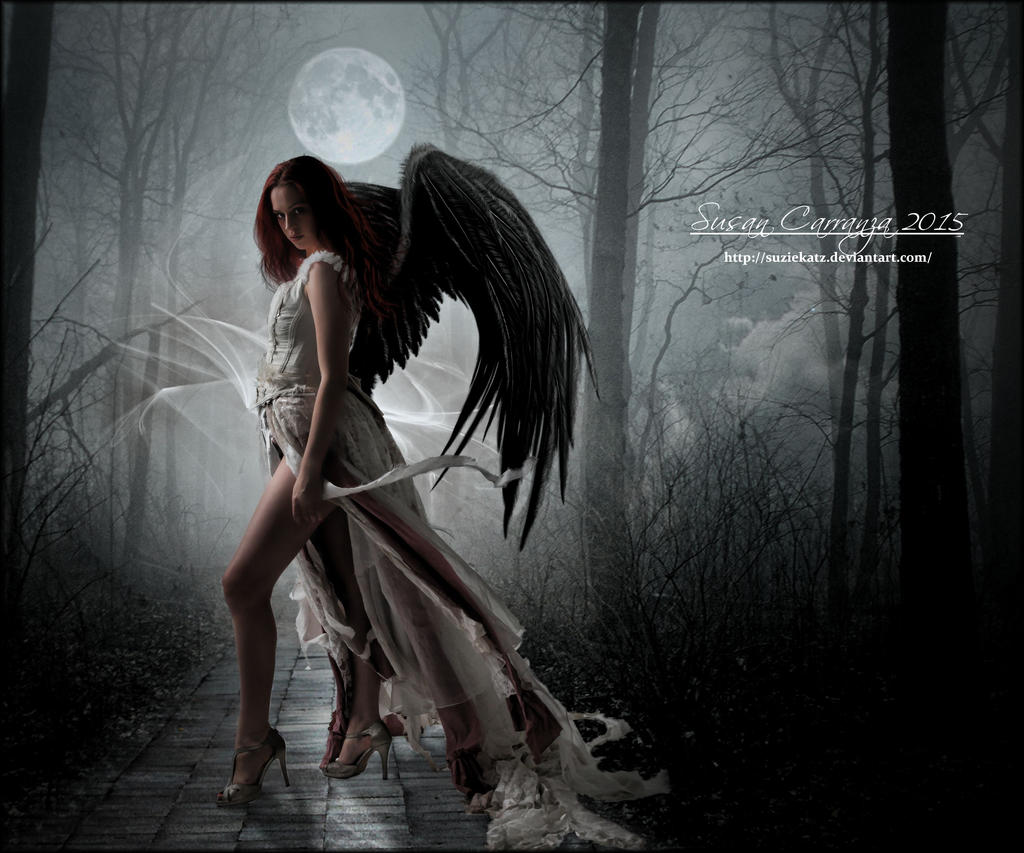 Serious Moonlight by SuzieKatz on DeviantArt