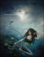 Mermaid Slumber by SuzieKatz