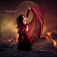 Fire Woman by SuzieKatz