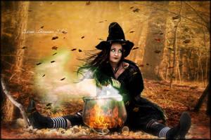 Halloween Witch by SuzieKatz