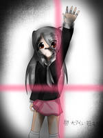 rolling girl by byakuganista
