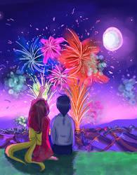 Fireworks2013 by byakuganista