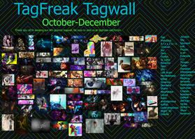 TagFreak 4th Quarter Tagwall