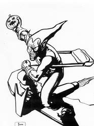 Green Goblin by hyvanildo