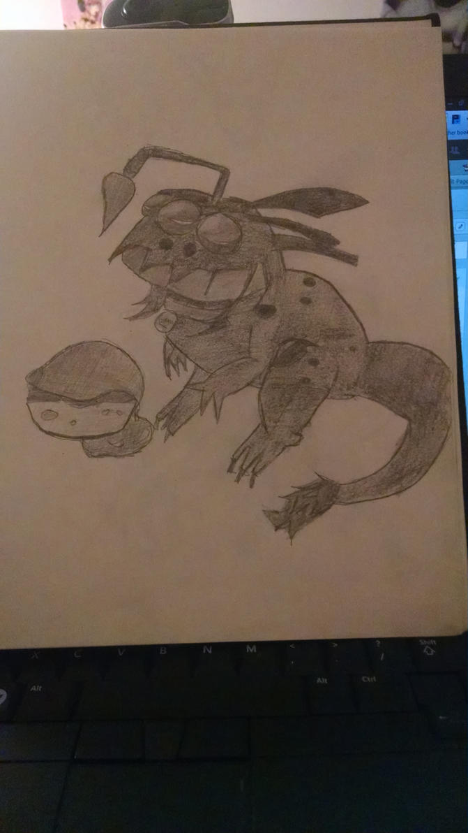 Awesomenauts sketch by Kittyskittles