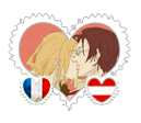FrAus OTP Stamp by BeautyWithinTheRose