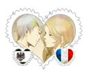 PruFra/France X Prussia OTP Stamp by BeautyWithinTheRose