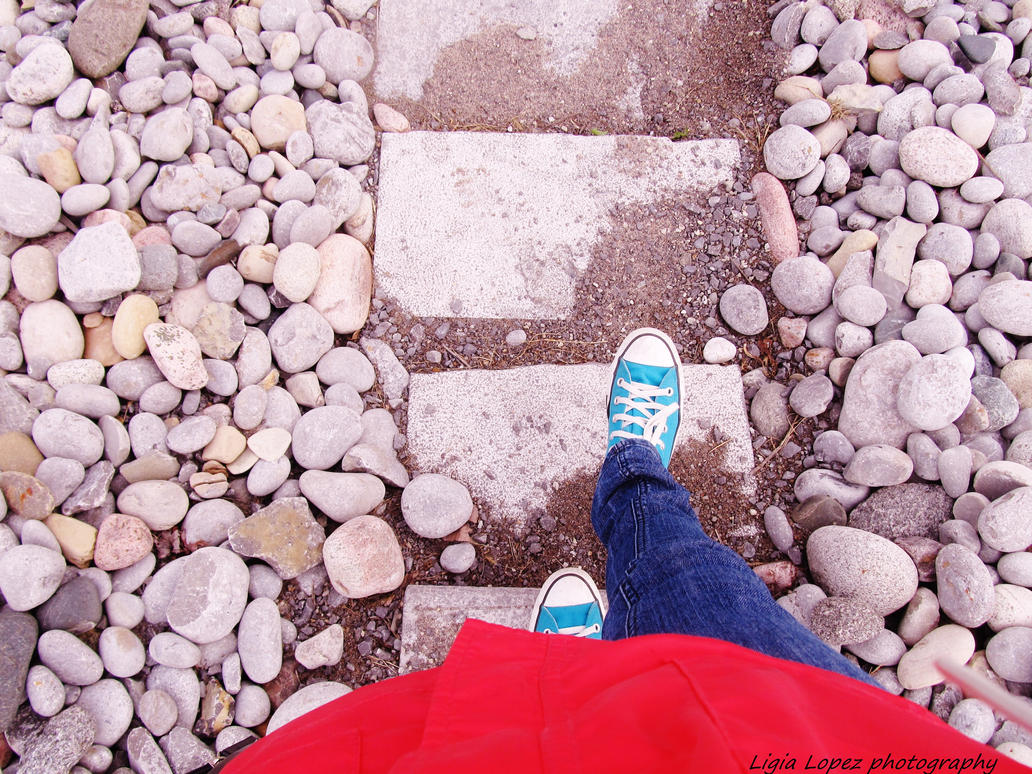 walking towards my future. by Mitsuki16