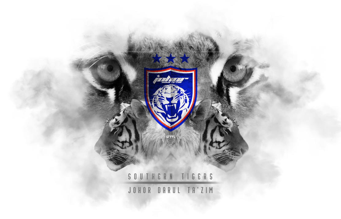Johor Darul Takzim JDT Logo Wallpaper 10 By TheSYFFL