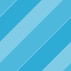 Candy Blue Diagonal Stripes by JonesPatterns