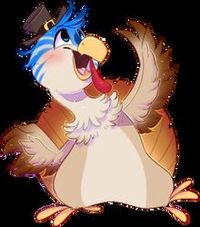 Steve the Turkey by SatioDragon