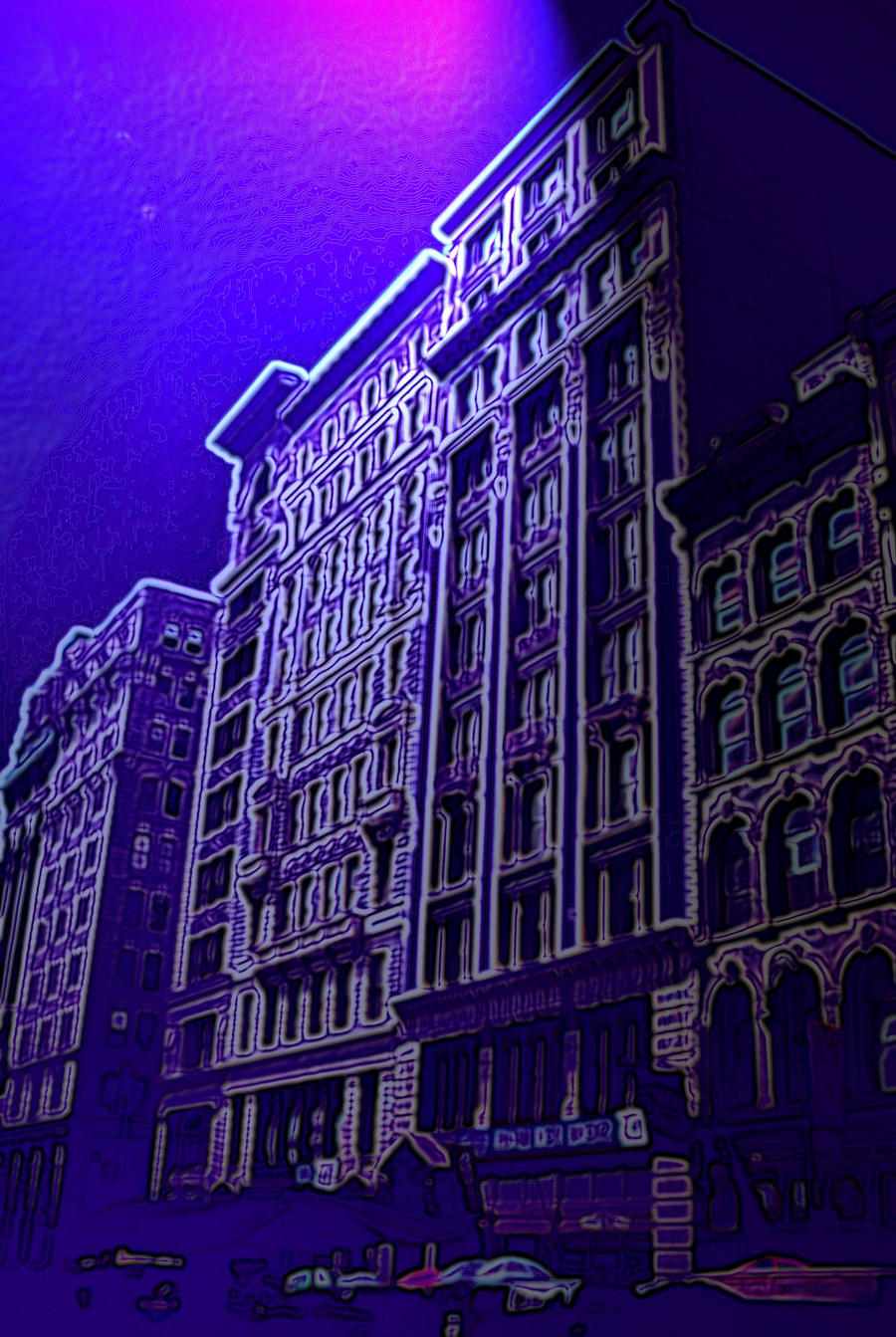 Purple City by Roxsana2012