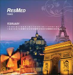 2008 Corporate Calendar_Feb by Arkmedia