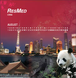2008 Corporate Calendar_Aug by Arkmedia