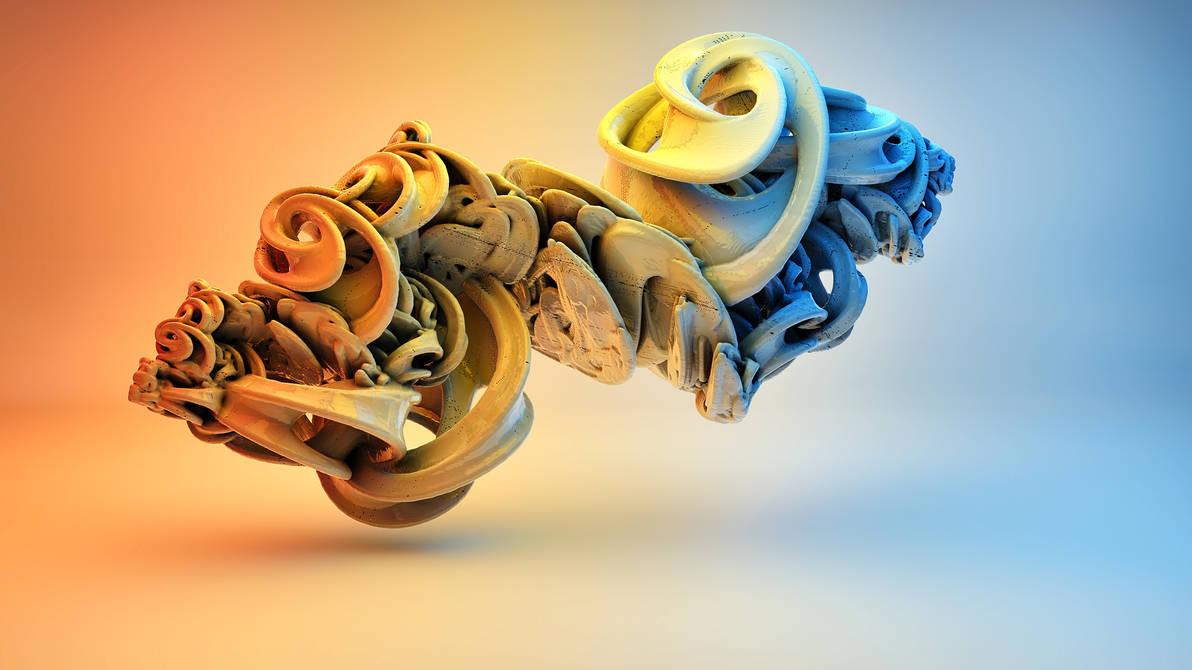 Fractal 3D by nic022