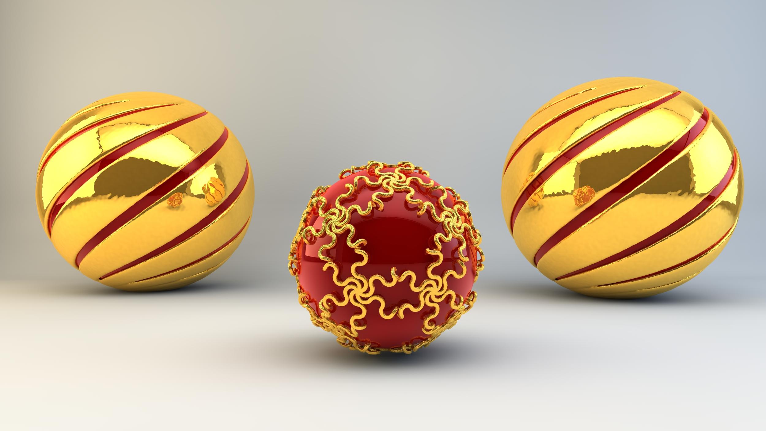 More Christmas balls by nic022