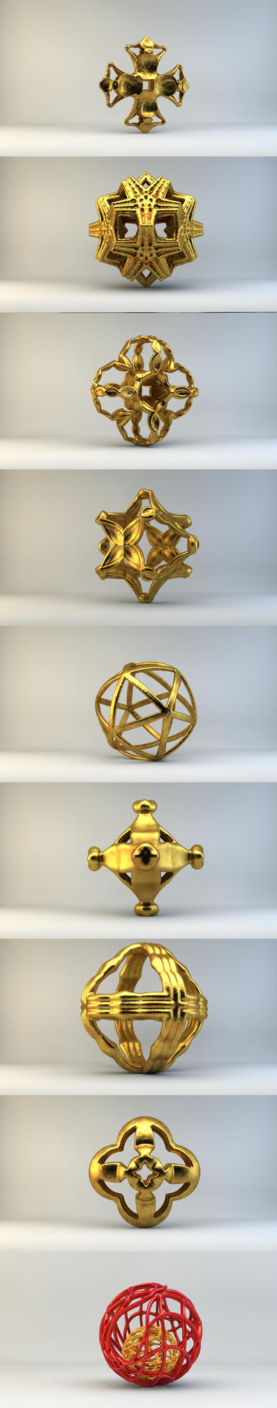 My MB3D's Shapeways by nic022