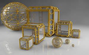 Mandelbulb 3D Models Digital Rendering by nic022
