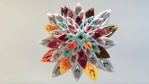 Mandelbulb 3D Model Digital Rendering by nic022