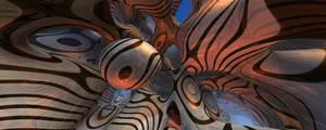 Mandelbulb 3D Wallpaper by nic022