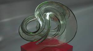 Incendia Ex Fractal Sculpture 3D