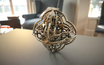 Fractal 3D Printed Model