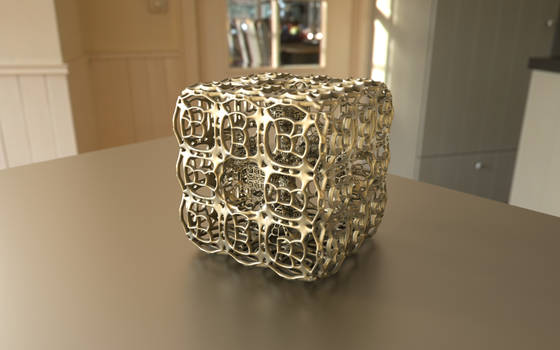 Fractal 3D Print Model on Shapeways