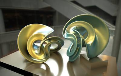 Incendia Ex 3D Print Model Sculpture