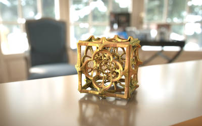 Mandelbulb 3D Fractal Print Model