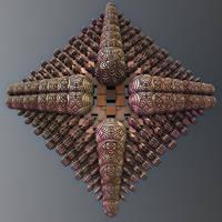 Mandelbulb 3D dIFS