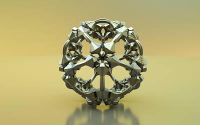 Mandelbulb 3D printable model