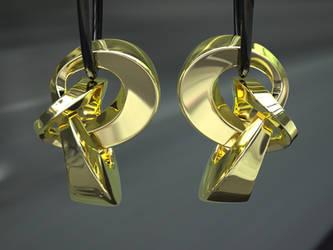 Golden Earrings by nic022