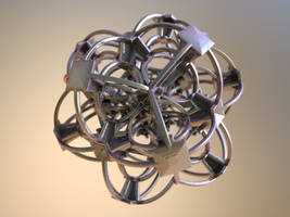Fractal 3D on Shapeways by nic022