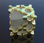 Open Cube 25mm 3D Print