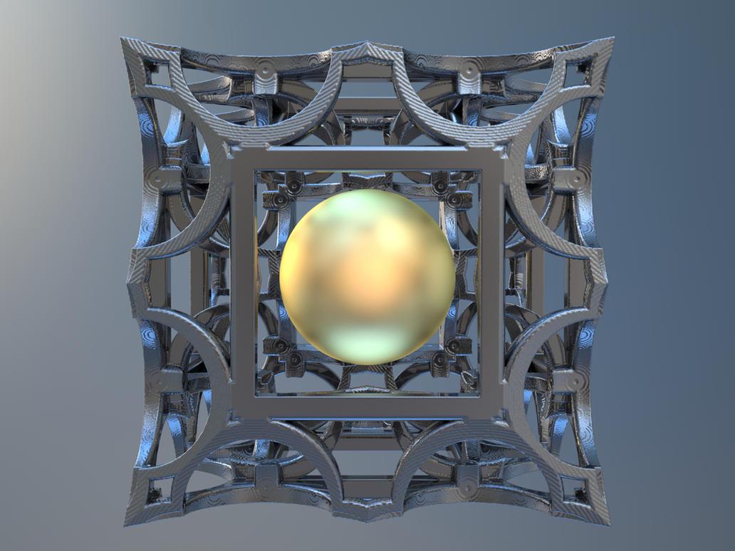 Fractal Box 3D Print by nic022