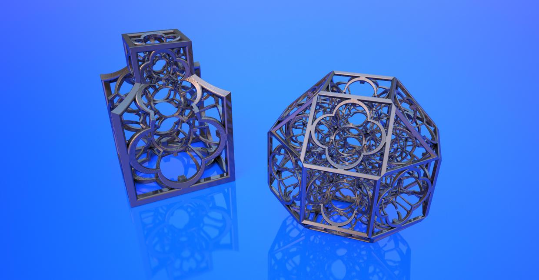 Fractal 3D Models by nic022