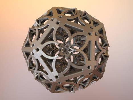 Fractal MB3D 3D Print