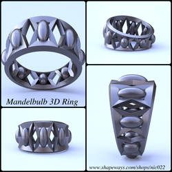 Fractal 3D Ring by nic022