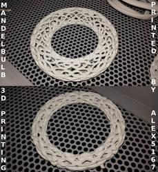 Mandelbulb FRACTAL 3D Print by nic022