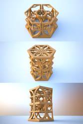 Mandelbulb FRACTAL 3D Printing by nic022