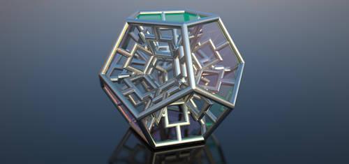 Mandelbulb FRACTAL 3D Export by nic022