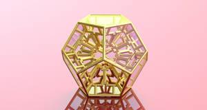 Dodeca FRACTAL 3D Print Model
