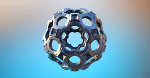 MB3D FRACTAL 3D STL Exported