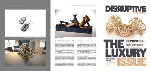Disruptive Magazine 3D Luxury Issue