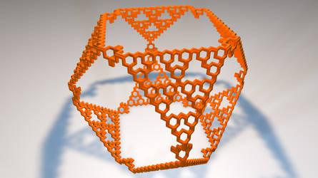 Serpinsky Menger Mix FRACTAL 3D Printing by nic022