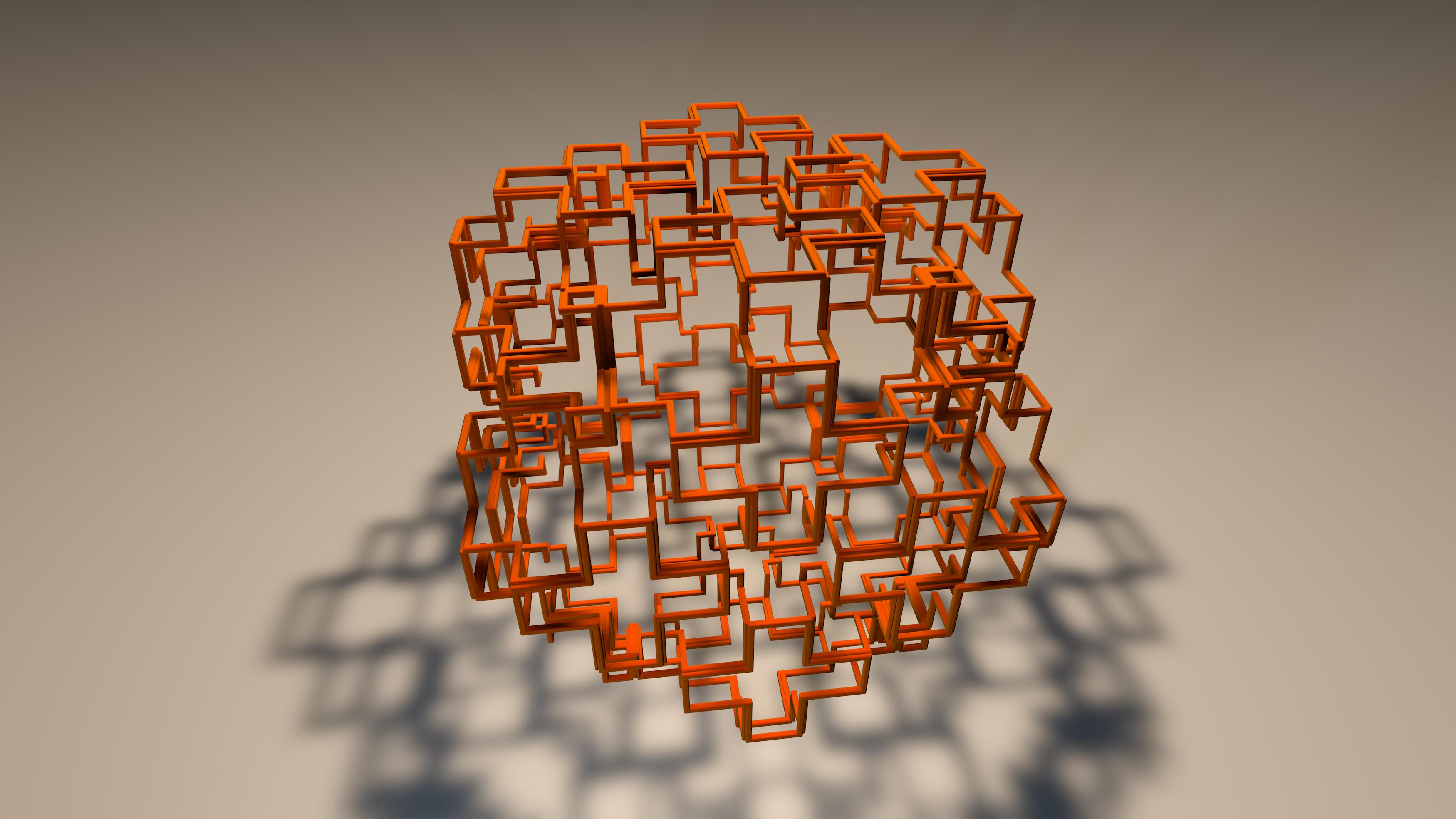 FRACTAL 3D Print Model
