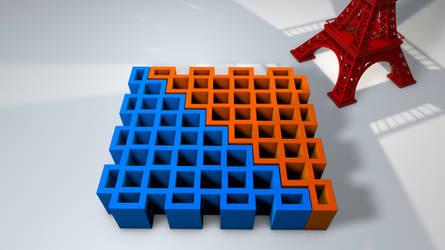 Corner Box 3D printing model by nic022