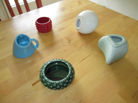 Porcelaine Shapeways 3D printing